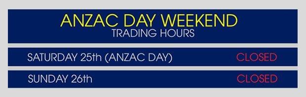 allcott-hire-anzac-weekend-trading-hours